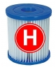 wklad filtrujący typ H