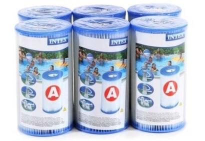 wkład filtracyjny INTEX typu A 6 sztuk